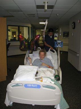 Titanya in hospital
