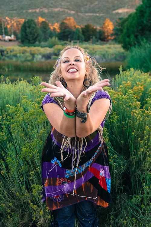 Energy Medicine Woman Spiritual Healing With Titanya Dahlin