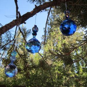 Lilac, Blue, Cobalt